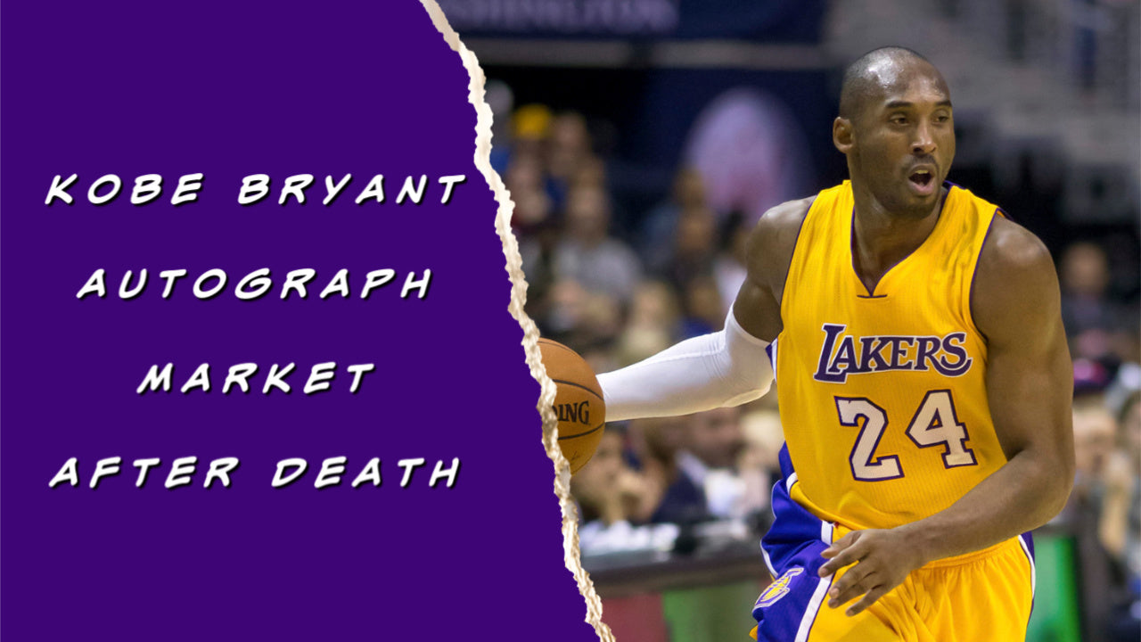 Kobe Bryant Autograph Market After His Death