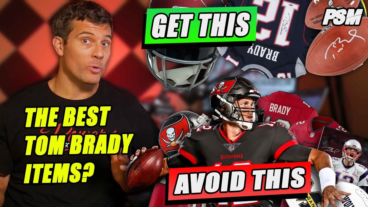 Top 5 Tom Brady Autographed Items (AND WHAT TO AVOID!)