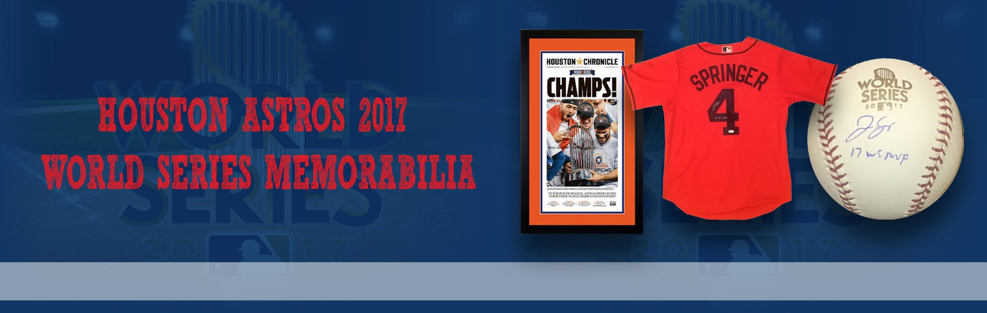 2017 World Series Autographs