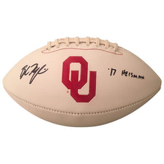 Signed Baker Mayfield Oklahoma Sooners Football