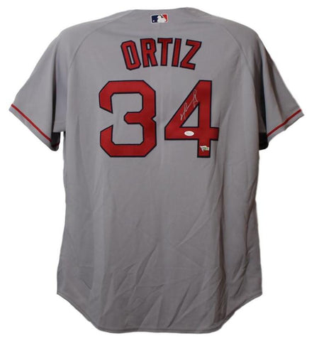 David Ortiz Autographed Red Sox Jersey