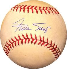 Willie Mays Autographed Baseball Sports Memorabilia