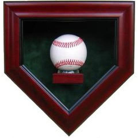 Autographed Baseball Home Plate Display Case
