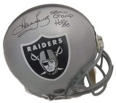 Howie Long Autographed Oakland Raiders Helmet Sports Memorabilia