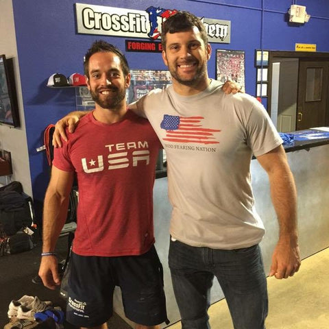 Rich Froning & Matt Powers