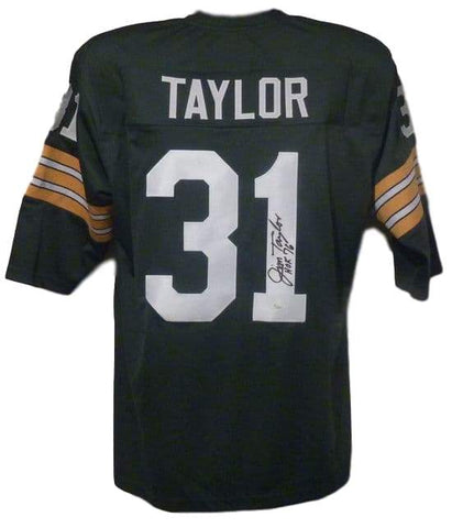 Sports Memorabilia Jim Taylor Autographed Packers Jersey