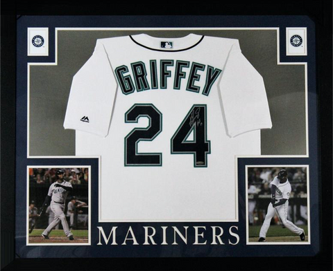 Ken Griffey Jr Signed Seattle Mariners Jersey