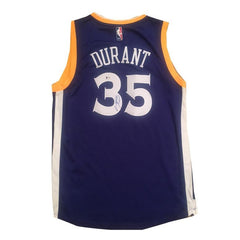 Kevin Durant Signed Sports Memorabilia Warriors Jersey