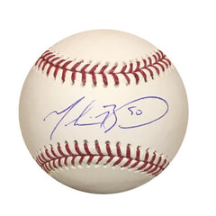 Mookie Betts Signed Baseball
