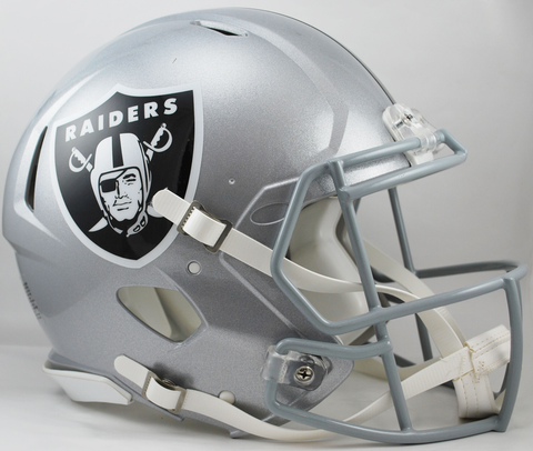 Oakland Raiders Football Sports Memorabilia Helmet