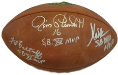 SIgned Oakland Raiders Football Sports Memorabilia