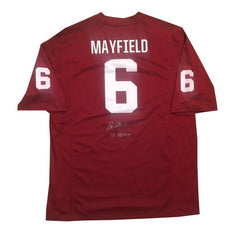 Oklahoma Sooners Baker Mayfield Signed Jersey
