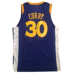 Steph Curry Signed Warriors Jersey
