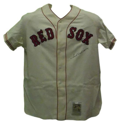 Ted Williams Autographed Boston Red Sox Sports Memorabilia Jersey