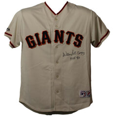 Willie McCovey Signed Giants Jersey