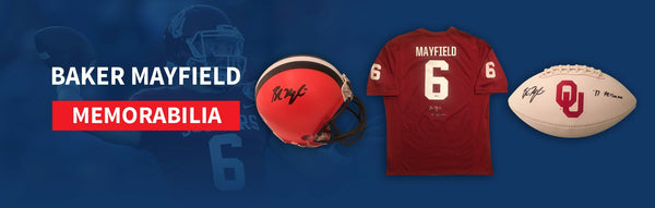 Autographed Baker Mayfield Sports Memorabilia