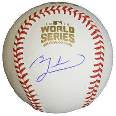 Ben Zobrist Autographed Baseball - Powers Sports Memorabilia