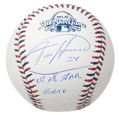 All Star Game Autographed Baseballs