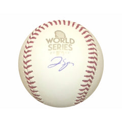 George Springer Autographed Baseball - Powers Sports Memorabilia