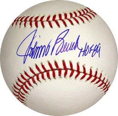 Johnny Bench Autographed Hall of Fame Baseball - Powers Sports Memorabilia