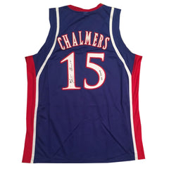 Mario Chalmers Autographed Kansas Jersey