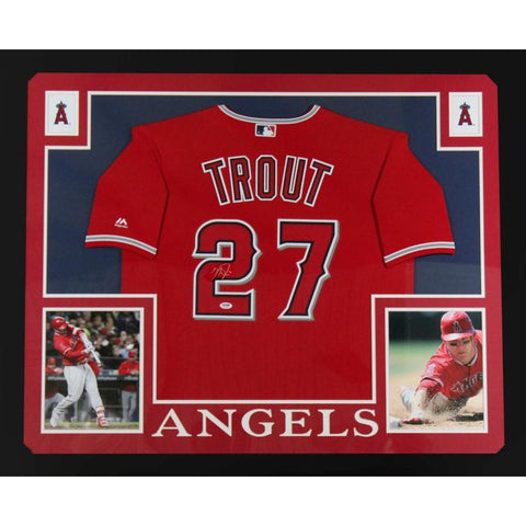 Mike Trout Signed Sports Memorabilia