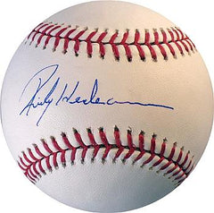 Rickey Henderson Autographed Baseball - Powers Sports Memorabilia