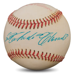 Roberto Clemente Autographed Baseball - Powers Sports Memorabilia