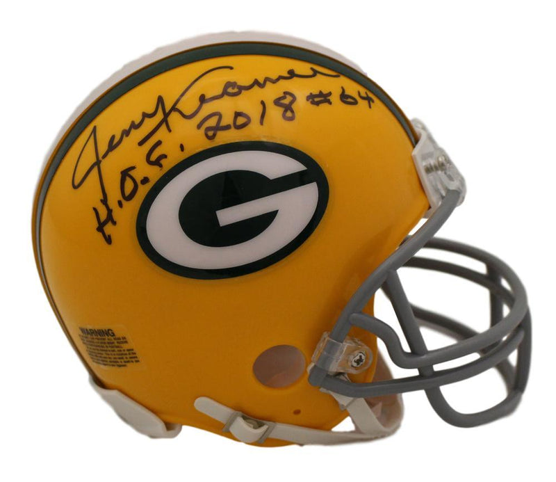 Jerry Kramer Autographed Green Bay Packers Mini Helmet PSM-Powers Sports Memorabilia