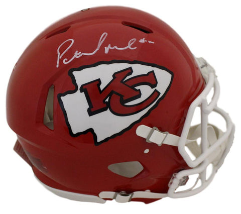 Patrick Mahomes Autographed Kansas City Chiefs Speed Proline Helmet JSA PSM-Powers Sports Memorabilia