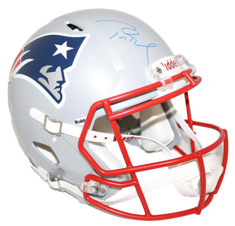 Tom Brady Autographed New England Patriots Revolution Helmet Tristar PSM-Powers Sports Memorabilia
