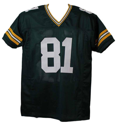 Desmond Howard Autographed Green Bay Packers XL Green Jersey MVP JSA PSM-Powers Sports Memorabilia
