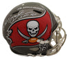 Mike Alstott Autographed Tampa Bay Buccaneers Speed Proline Helmet 2 Insc BAS PSM-Powers Sports Memorabilia