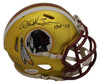 Darrell Green Autographed Washington Redskins Blaze Mini Helmet HOF JSA PSM-Powers Sports Memorabilia