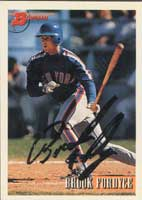 Brook Fordyce New York Mets 1993 Bowman Autographed Card - Rookie Card. This item comes with a certificate of authenticity from Autograph-Sports. PSM-Powers Sports Memorabilia
