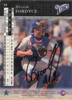 Brook Fordyce New York Mets 1994 Upper Deck SP Prospects Autographed Card - Rookie Card. This item comes with a certificate of authenticity from Autograph-Sports. PSM-Powers Sports Memorabilia