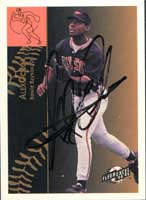 Alex Ochoa Bowie Baysox - Orioles Affiliate 1995 Fleer Excel Autographed Card - Minor League Card. This item comes with a certificate of authenticity from Autograph-Sports. PSM-Powers Sports Memorabilia