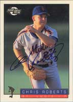 Chris Roberts St. Lucie Mets - Mets Affiliate 1994 Fleer Excel Autographed Card - Minor League Card. This item comes with a certificate of authenticity from Autograph-Sports. PSM-Powers Sports Memorabilia