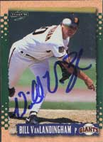 Bill VanLandingham San Francisco Giants 1995 Score Autographed Card. This item comes with a certificate of authenticity from Autograph-Sports. PSM-Powers Sports Memorabilia