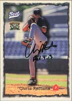 Chris Reitsma GCL Red Sox - Red Sox Affiliate 1997 Classic Best Autographed Card - Minor League Card. This item comes with a certificate of authenticity from Autograph-Sports. PSM-Powers Sports Memorabilia