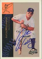 Antone Williamson Stockton Ports - Brewers Affiliate 1994 Fleer Excel Autographed Card - Minor League Card. This item comes with a certificate of authenticity from Autograph-Sports.-Powers Sports Memorabilia