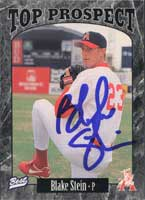 Blake Stein St. Louis Cardinals 1997 Classic Best Top Prospect Autographed Card - Minor League Card. This item comes with a certificate of authenticity from Autograph-Sports. PSM-Powers Sports Memorabilia