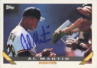 Al Martin Pittsburgh Pirates 1993 Topps Autographed Card. This item comes with a certificate of authenticity from Autograph-Sports. PSM-Powers Sports Memorabilia