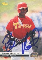 Brian Hunter Tucson Toros - Astros Affiliate 1994 Classic Autographed Card - Minor League Card. This item comes with a certificate of authenticity from Autograph-Sports. PSM-Powers Sports Memorabilia