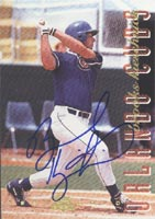 Brooks Kieschnick Orlando Cubs - Cubs Affiliate 1994 Classic Best Gold Autographed Card - Minor League Card. This item comes with a certificate of authenticity from Autograph-Sports. PSM-Powers Sports Memorabilia