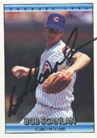 Bob Scanlan Chicago Cubs 1992 Donruss Autographed Card - Rookie Card. This item comes with a certificate of authenticity from Autograph-Sports. PSM-Powers Sports Memorabilia