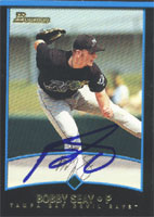 Bobby Seay Orlando Rays - Devil Rays Affiliate 2001 Bowman Autographed Card - Minor League Card. This item comes with a certificate of authenticity from Autograph-Sports. PSM-Powers Sports Memorabilia