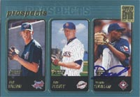 Darwin Cubillan Texas Rangers 2001 Topps Prospects Autographed Card - Rookie Card. This item comes with a certificate of authenticity from Autograph-Sports. PSM-Powers Sports Memorabilia
