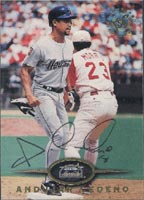 Andujar Cedeno Houston Astros 1995 Stadium Club Autographed Card. This item comes with a certificate of authenticity from Autograph-Sports. PSM-Powers Sports Memorabilia
