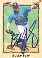 Bobby Seay Charleston River Dogs - White Sox Affiliate 1998 Team Best Autographed Card - Minor League Card. This item comes with a certificate of authenticity from Autograph-Sports. PSM-Powers Sports Memorabilia